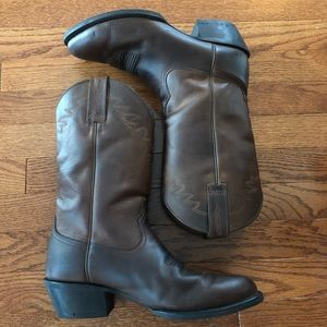 Ariat Sedona Western Brown Boots Size 8.5 Mens